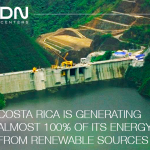 Costa Rica's renewable energy, a solution to the carbon footprint of the new Internet economy